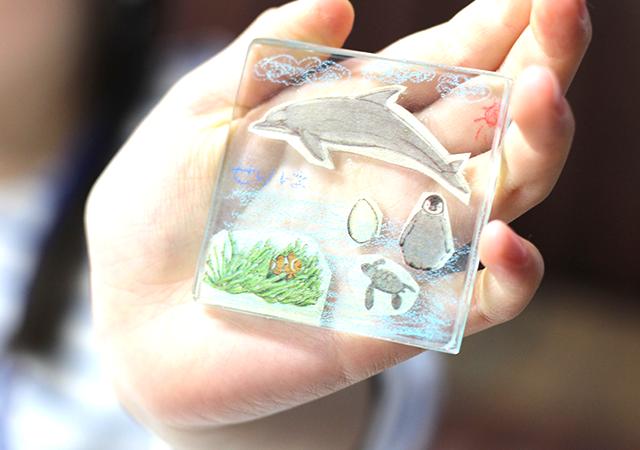 「板ガラスでつくるペーパーウエイト」 by Lucky Glass Studio の体験記